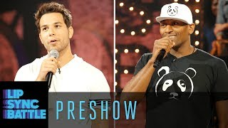 Skylar Astin vs. Metta World Peace: Preshow Interview | Lip Sync Battle Preshow
