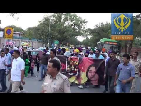 Protest For Sadda Haq In Delhi video