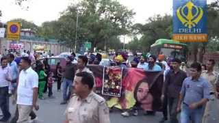 Sadda Haq - protest for sadda haq in delhi
