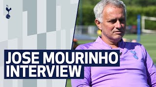JOSE MOURINHO INTERVIEW | TRAINING, FITNESS UPDATE & 'PRE-SEASON' AIMS