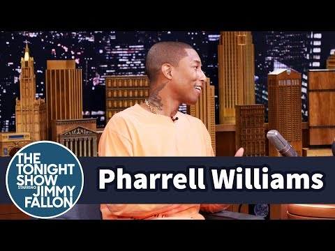 Pharrell Williams' Triplets Harmonize When They Cry
