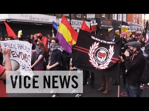 Leftists, angered by Brexit, march in London