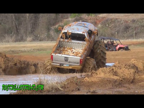BIG MUD TRUCKS AT MUDFEST 2014