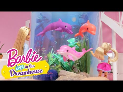 Accidentally on Porpoise | Barbie LIVE! In the Dreamhouse | Barbie