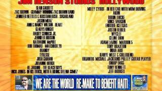 WE ARE THE WORLD RE-MAKE TO BENEFIT HAITI S-1240