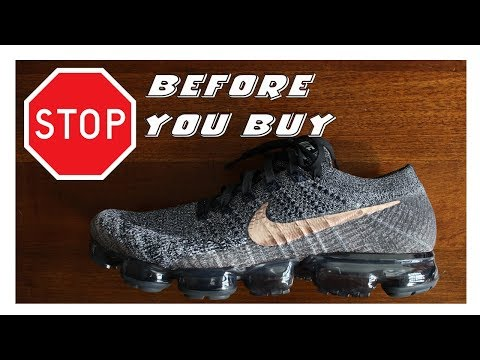 Watch This Before You Buy The Nike Vapormax!