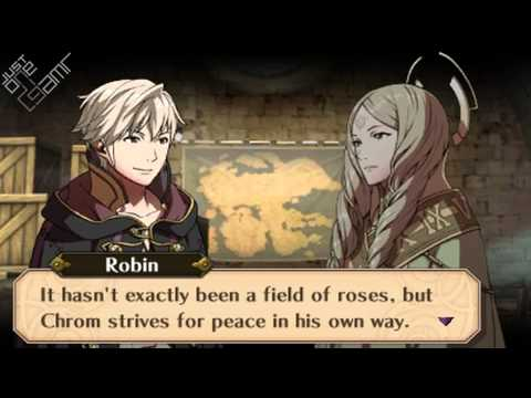 Fire Emblem Awakening - Male Avatar (My Unit) & Emmeryn Support Conversations