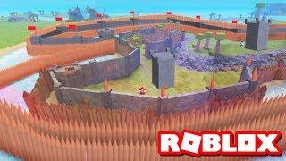 GIANT CASTLE BASE!! | Roblox Booga Booga