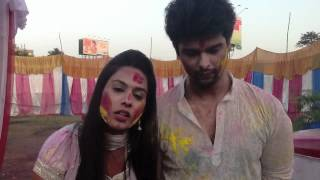 Kushal Tandon and Nia Sharma Holi Unedited Segment