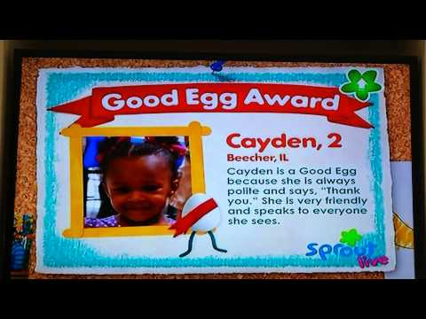 Cayden on Sprout TV
