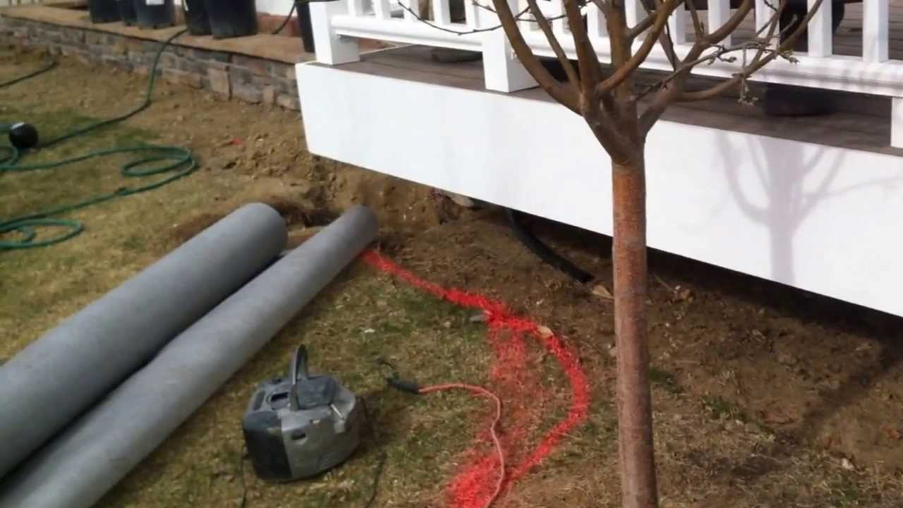 Installing composite lattice installing lattice under a for How to install decking