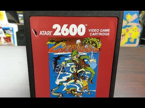 Classic Game Room - CROSSBOW review for Atari 2600