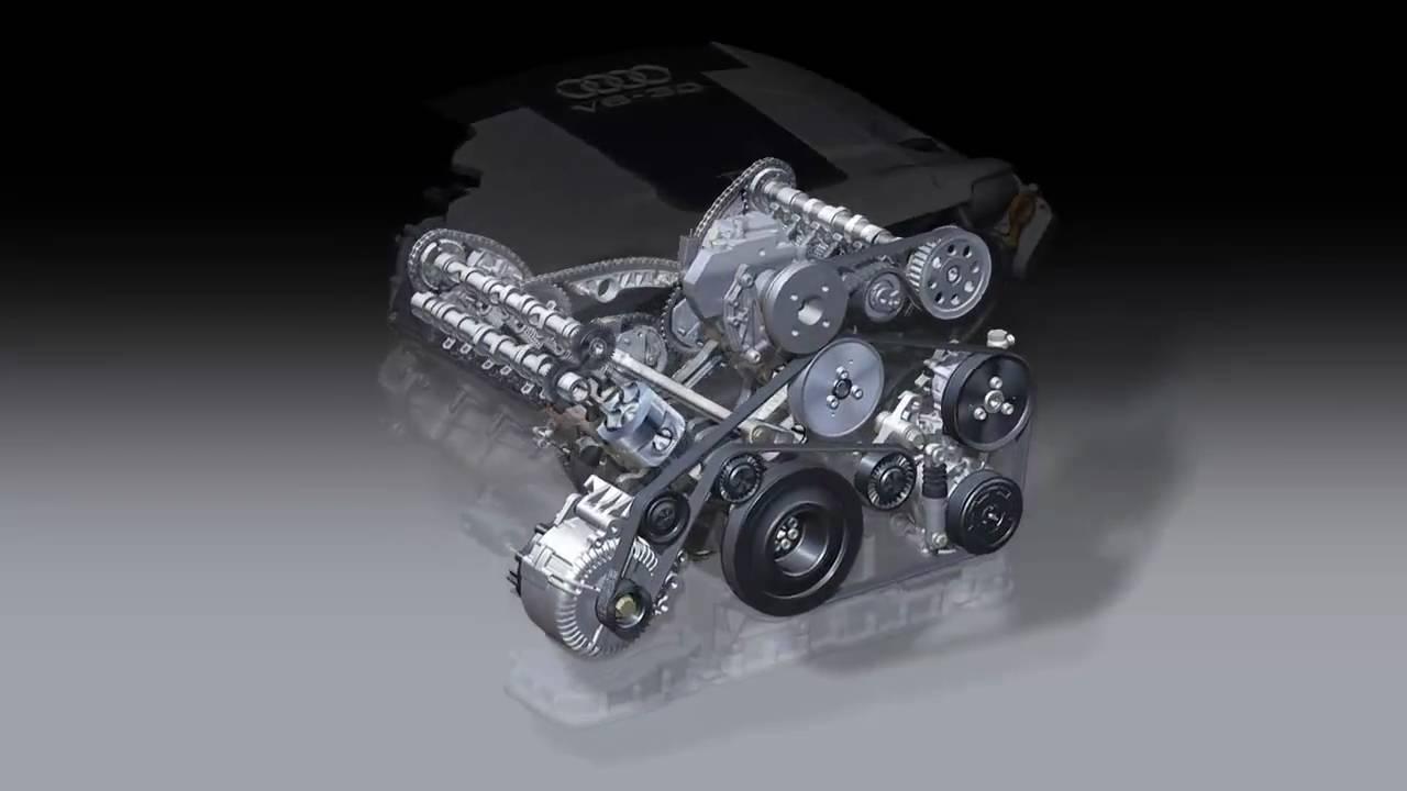 Audi 2004 3 0l V6 Tdi Motor Youtube