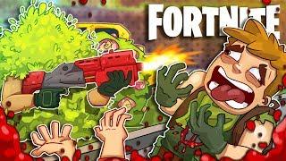 The Ultimate Bush! w/ TimTheTatMan, Dr Lupo, & Lassiz - Fortnite Battle Royale!
