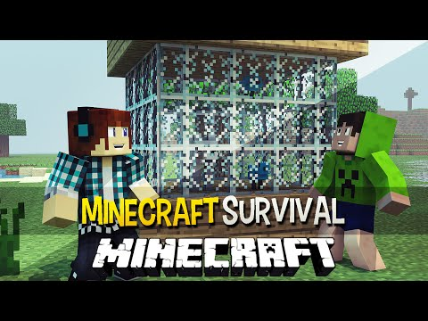 Minecraft Survival Ep.119 - O Zoológico de Vidro !!