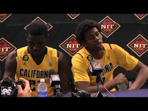 Cal Men's Basketball: Jabari Bird & Tyrone Wallace Arkansas Post-Game (3/24/13)