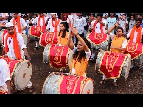 Mauli Dhol Tasha Pathak at Devi Chowkacha Raja Padhya Pujan 2017   Dombivli
