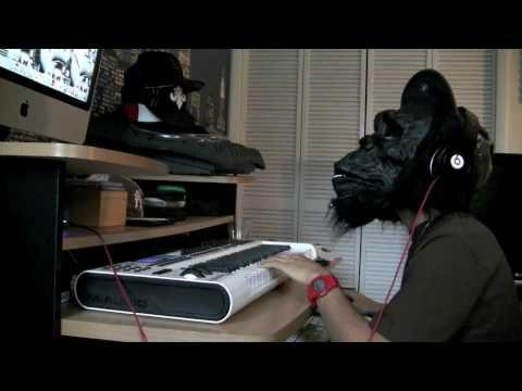 Noodles Making Hard Scary Hip-Hop beat Part 2 {rap} Instrumental