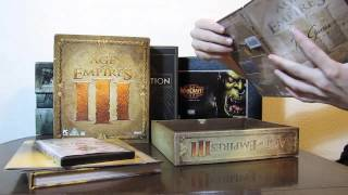 Распаковка Age of Empires III Collectors Edition
