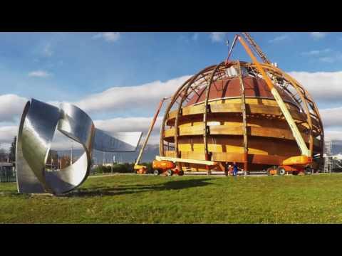 Renovation du Globe de la science et de l'Innovation