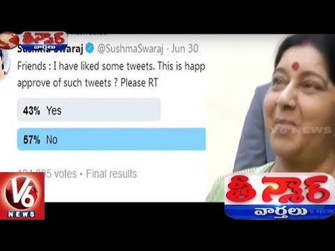Poll On Troll : Sushma Swaraj Gets Support From 58% People  | Teenmaar News