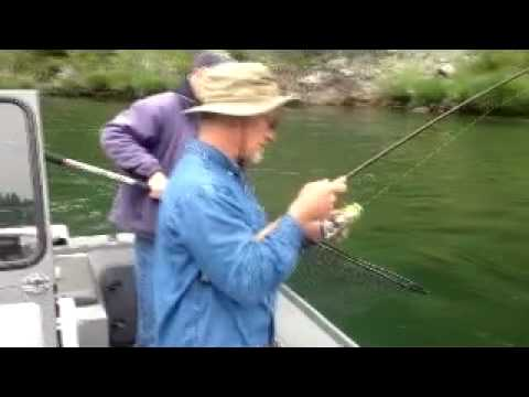 Klamath River Steelhead with Guide Steve Huber