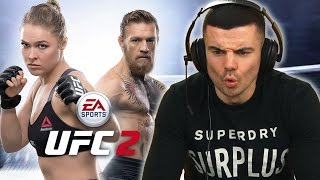 MMA Fighters Play The UFC Video Game