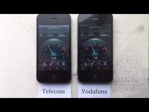 Telecom Vs Vodafone Speed Test 3G Network