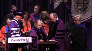Autumn Convocation, Morning of October 24, 2018