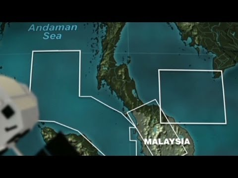 Using High-tech Tools To Find Malaysia Airlines Plane video