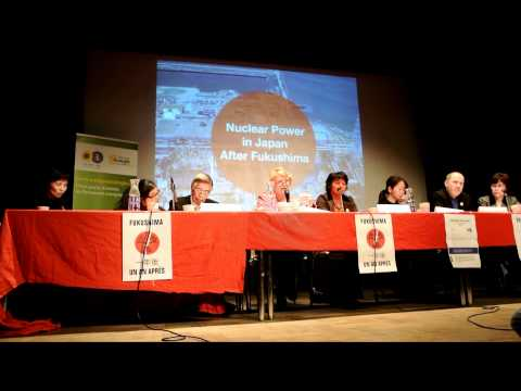 Eva Joly, Speech, Fukushima Anniversary, Paris, France