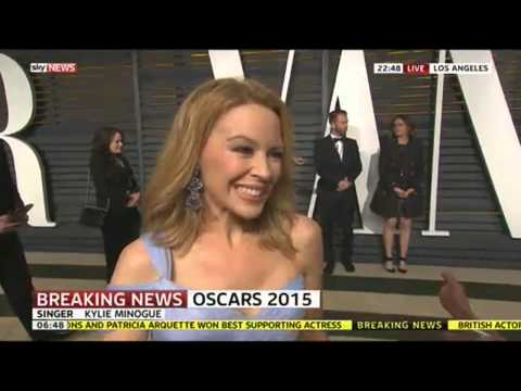 Oscars 2015: Kylie Minogue Says Lady Gaga