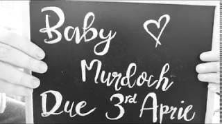 CREATIVE PREGNANCY ANNOUNCEMENT!! - Baby Murdoch