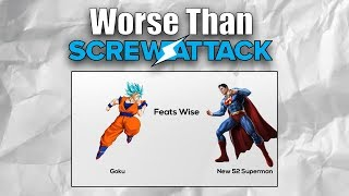 Worse Than ScrewAttack! (Goku Vs Superman by SL Made)