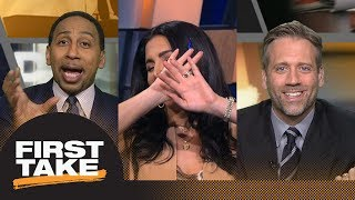 Stephen A., Max and Molly all go at it during Warriors vs. Rockets debate | First Take | ESPN