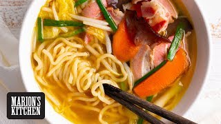 The Easiest Japanese Noodle Soup - Marion's Kitchen