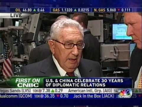 Henry Kissinger (HQ) Obama and The New World Order 1/5/09