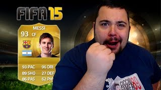 Messi in a Pack - Fifa 15 PACK OPENING OMG !!!!