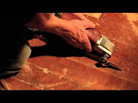 Tongue and Groove Flooring Removal with Oscillating Multi-Tool