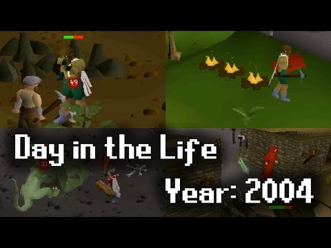 A Day in the Life of a 2004 RuneScape Player