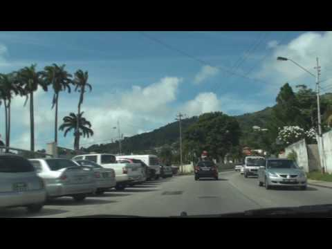 Driving in Trinidad, Port of Spain