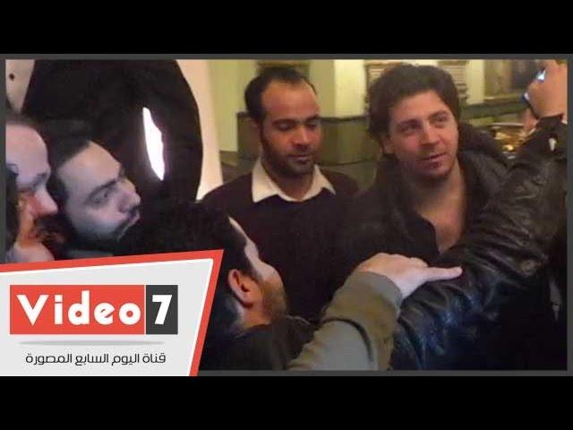 """بالفيديو.. """"هوس السيلفى""""  يسطر على حفل الملكية الفكرية لنجوم الفن المصرى"""