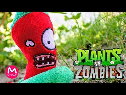 Plants vs Zombies Plush Toys - PART 1   MOO Toy Story