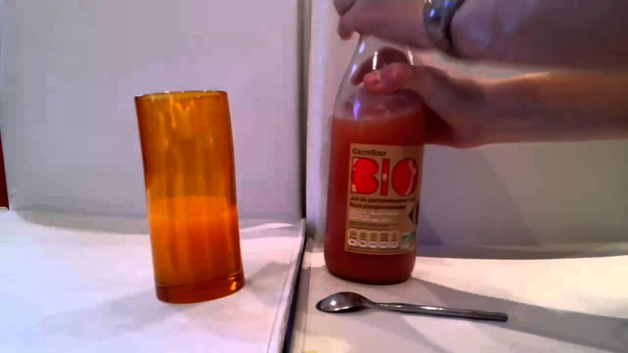 Pr parer une boisson nergisante cocktail de jus de for Cocktail jus d orange