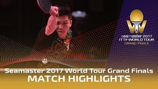 2017 World Tour Grand Finals Highlights: Dimitrij Ovtcharov vs Fan Zhendong (Final)