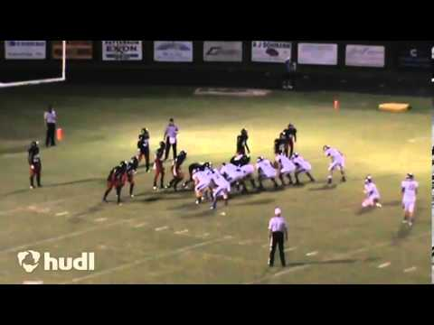 Adam Bosworth #27 East Ascension High School Football Senior Season kicking PT1