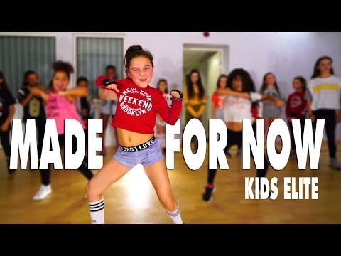 Janet Jackson x Daddy Yankee - Made For Now | Kids Street Dance | Choreography Sabrina Lonis