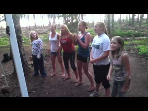 grandma gerving's 83rd birthday rap by her granddaughters