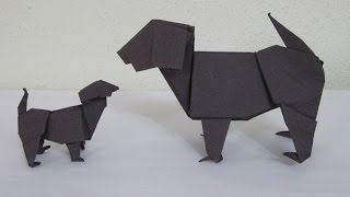 How To Make The Amazing Origami Dog - The Labrador (oct 2010)