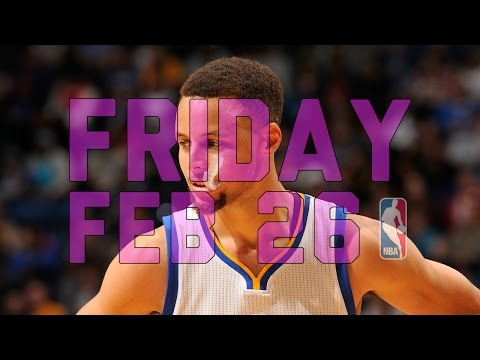 NBA Daily Show: Feb. 26 - The Starters